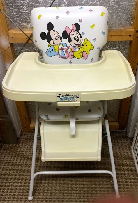 Minnie Mouse Graco High Chair by 1000 Images About Baby Vintage Misc On