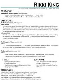 Accounting Internship Resume Sles by Student Resume Objective Katy Perry Buzz