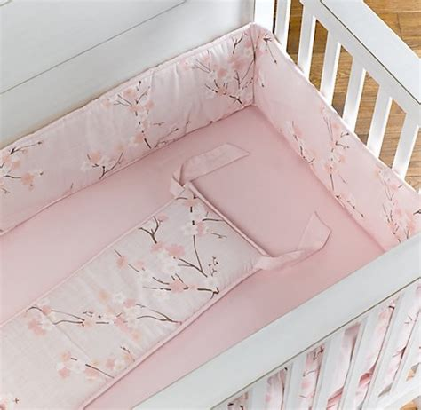 cherry blossom crib bedding sakura cherry blossoms in design