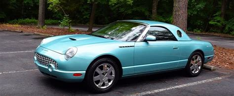 regular cars checks out the 2002 ford thunderbird autoevolution