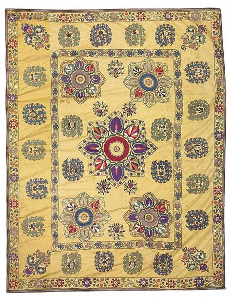 uzbek samarkand region silk handmade embroidery suzani 24900 via 263 best images about antique uzbek suzani on pinterest