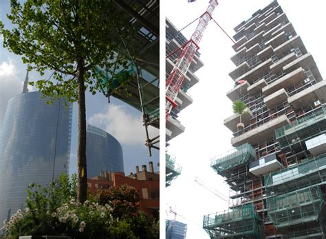 Vertical Garden Milan Bosco Verticale The World S Vertical Forest Nears