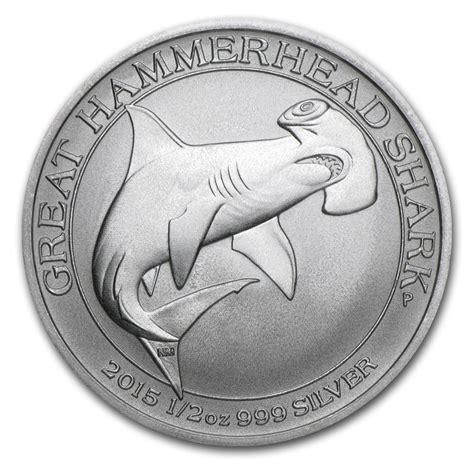 1 Oz Silver Coins For Sale - 1 2 oz perth mint shark coins silver coins for sale half