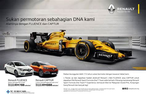 renault malaysia renault malaysia anjur kempen renault motorsports is in