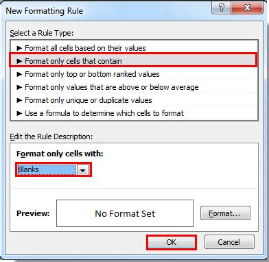 format zero how to ignore blank or zero cells in conditional