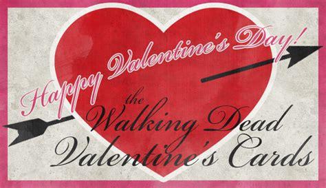 the walking dead valentines day walking dead s day cards the walking dead