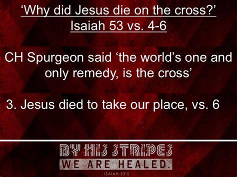 jesus die   cross st saintfield presbyterian church