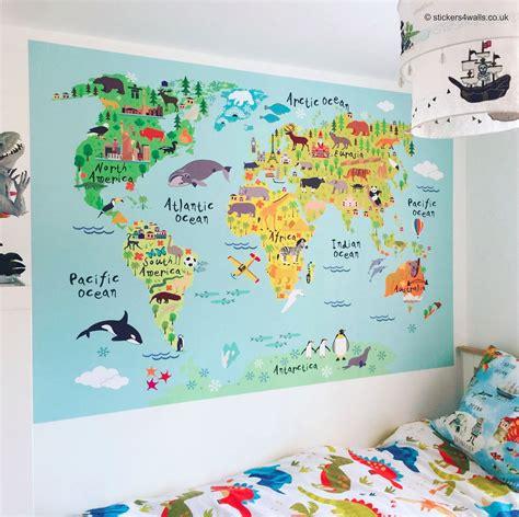 Map Wall Sticker