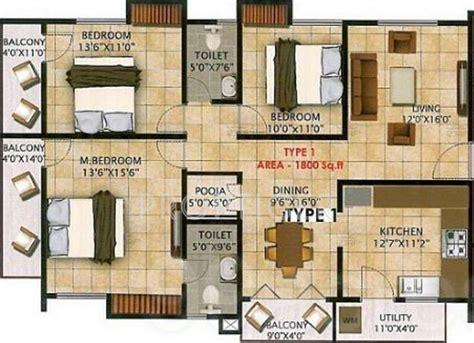 1800 sq ft floor plans nandi dollars in kanakapura bangalore price location
