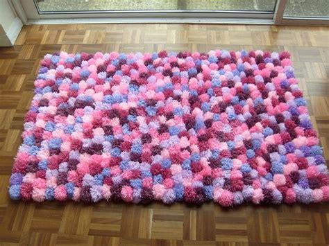 diy yarn rug best 25 pom pom rug ideas on pom pom mat diy pom pom rug and diy