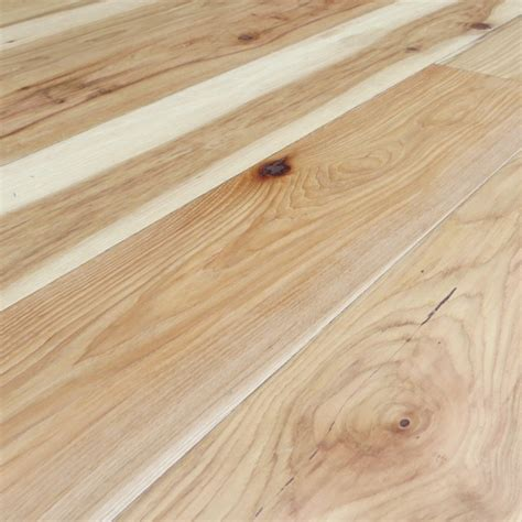 hickory uv oiled natural hand scraped solid engineered 7 inch traditional engineered wood