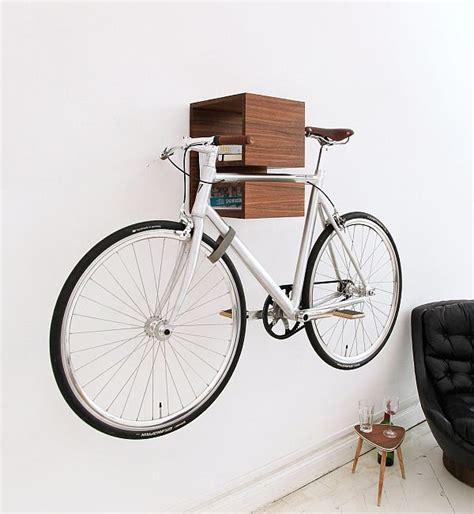 bookcase wall bike rack decoist