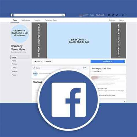 Facebook Page Template Download Phases Design Studio Social Media Profile Template
