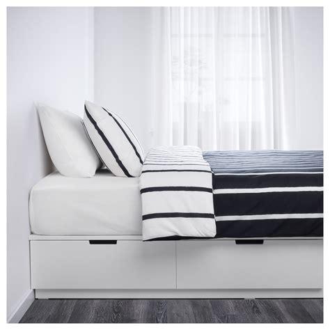 nordli bed frame with storage nordli bed frame with storage white 140x200 cm ikea