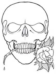 image gallery skull outlines