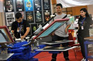 Mesin Bordir Golden fitinline indonesia apparel production expo 2014