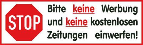Aufkleber Keine Werbung Greenpeace by Aufkleber Keine Werbung F 252 R Den Briefkasten Pictures To