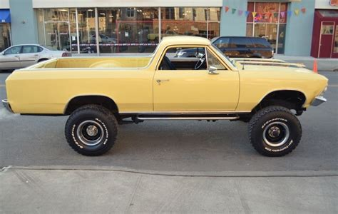el camino lifted 1966 chevrolet el camino 4 215 4 lifted monster truck