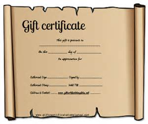 make your own certificate templates make your own gift certificate printable free rachael