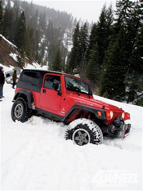 Jeep Wrangler Snow 131 0909 01 Z Aev Jeep Wrangler Brakes Passenger Side Snow