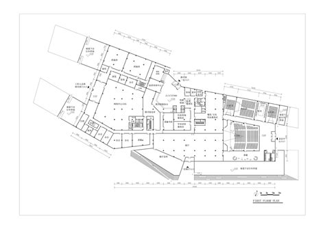 Floor Layout gallery of hebei university library winning proposal