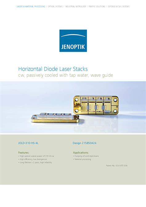 laser diode jenoptik solid state laser 807nm 310w stack jenoptik laser gmbh compare laser module