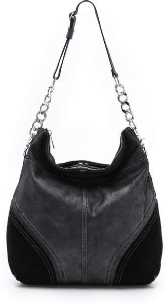 Botkier Black Ruched Hobo by Botkier Hobo In Black Lyst