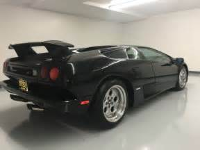 1995 Lamborghini Diablo For Sale 1995 Lamborghini Diablo Vt Coupe For Sale Photos