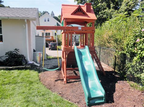 how to install swing set sets for small backyards 28 images sweet small yard