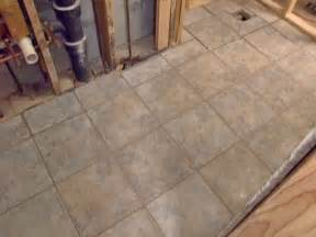 How To Tile A Bathroom Floor by How To Install A Tile Bathroom Floor How Tos Diy