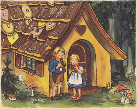 Hansel And Gretel h 228 nsel und gretel illustration 4 hansel and gretel