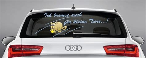 Lustige Autoaufkleber Tiere by Lustiger Aufkleber Quot Ich Bremse Auch F 252 R Kleine Tiere Quot