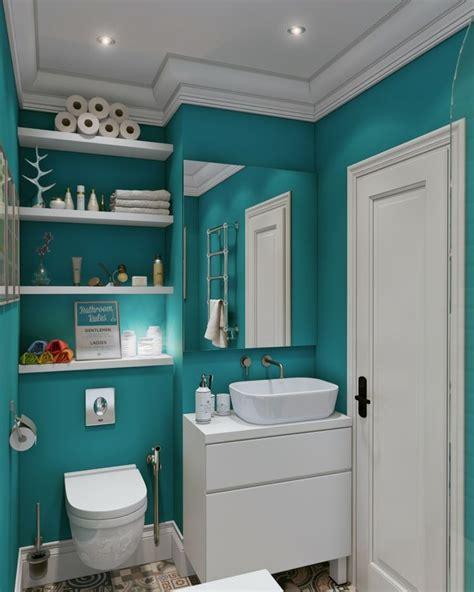 Badezimmer Einbauregal by Badm 246 Bel F 252 R Kleine B 228 Der Weiss Einbauregal Tuerkis