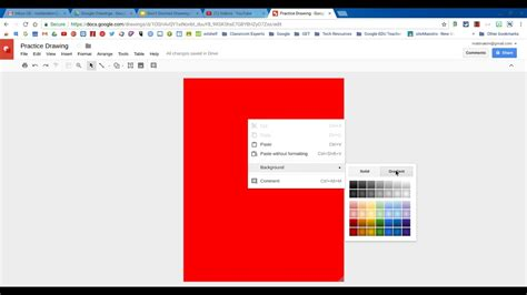 how to change background color change background color in drawings
