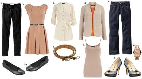 What Is Basic Wardrobe by 10 Wardrobe Basics