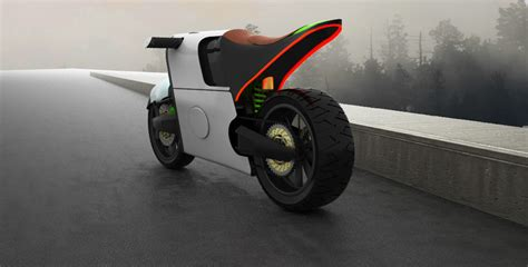 tesla concept motorcycle when tesla tries two wheels yanko design