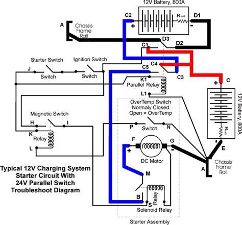 24v starter wiring diagram 26 wiring diagram images
