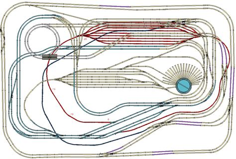 free ho train layout design software free ho scale track layouts download layout design plans