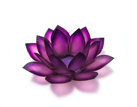 purple lotus purple lotus tea light holder interior design ideas