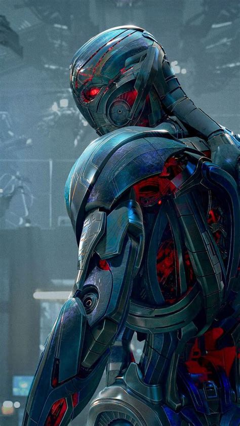 Wallpaper Iphone Ultron | ultron tap to see avengers age of ultron apple iphone