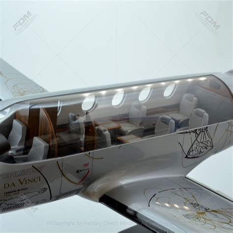 Pilatus PC 12 Model with Detailed Interior and Lights