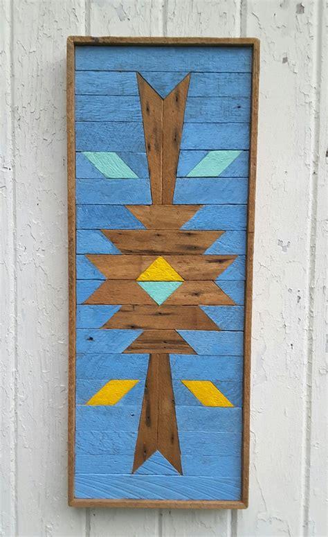 Southwestern Wood Wall