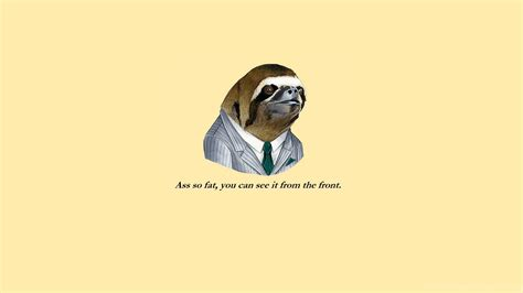 Meme Desktop Wallpaper - funny sloth face meme hd wallpapers desktop background