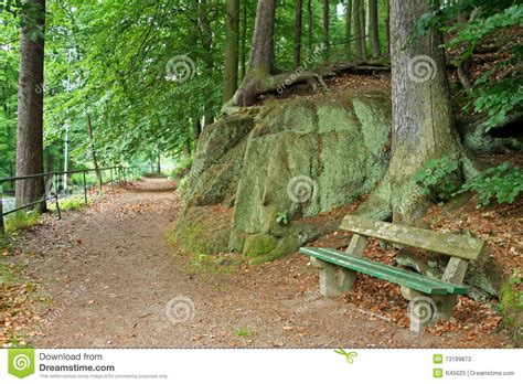 park bench scene park scene with bench stock photos image 13189873