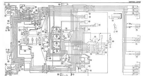 ford escort mk2 alternator wiring diagram