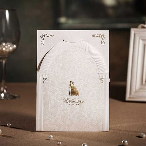 Wedding Card New Models by Wedding Invitations Cards Customized Luxurious Vintage