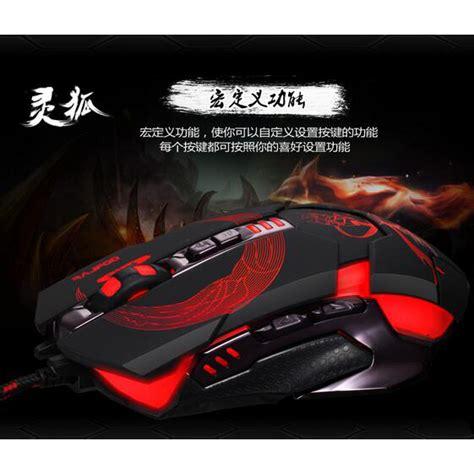 Rajfoo Gaming Mouse Laser Model 2 Black rajfoo gaming mouse laser model 6 black jakartanotebook