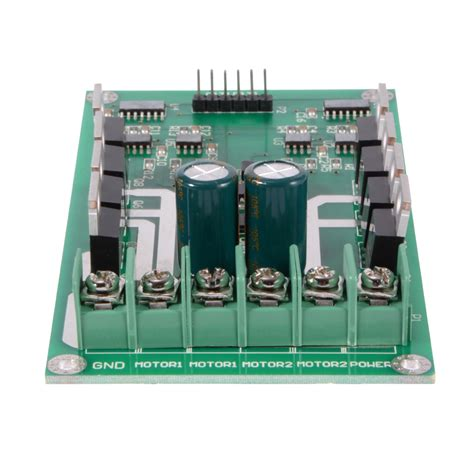 transistor driver chip dual motor driver module h bridge mosfet irf3205 for arduino robot car te589 ebay