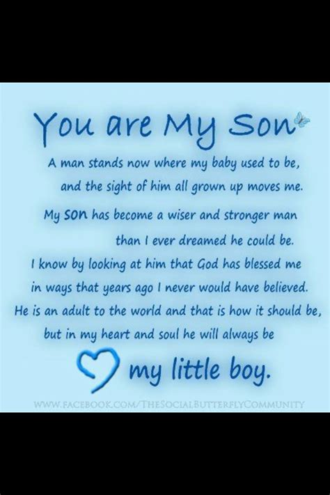 Quotes To My On Birthday Happy Birthday To My Son In Heaven Quotes Quotesgram
