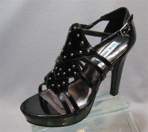 steve madden p gemma gladiator sandals heels shoes 7 5 ebay